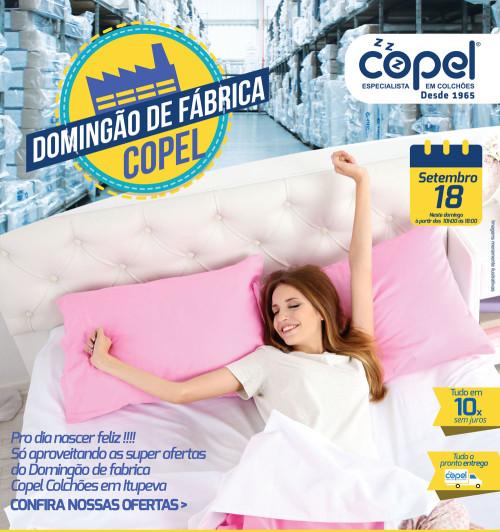 Domingão de Fábrica Copel Colchões - 18/09/2016